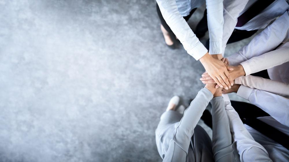 Team Work in Digital Marketing Agency in USA